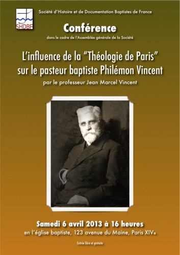 Jean-Marcel Vincent, shdbf, baptisme