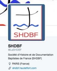 baptisme, églises baptistes, shdbf, twitter