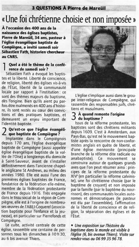 Interview Courrier Picard P. de Mareuil (lundi 16.11.09, p.jpg